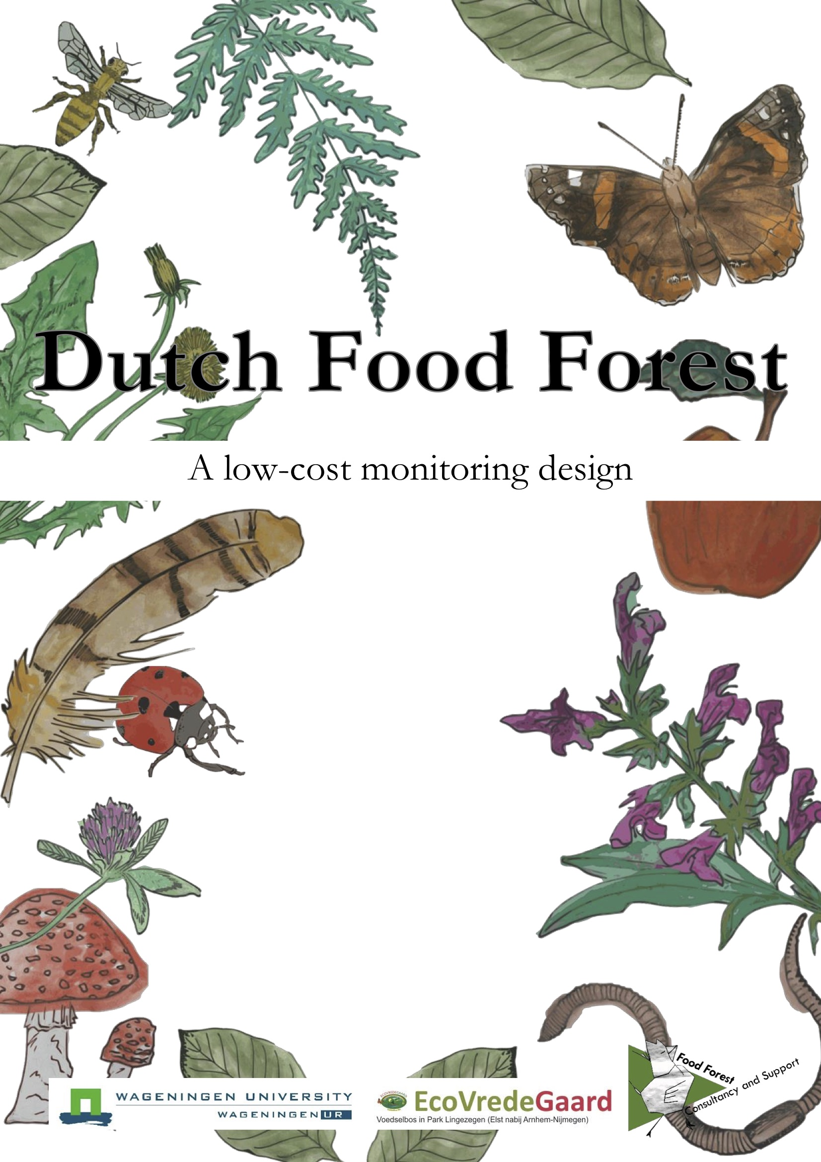 Dutch Food Forest: a low-cost monitoring design